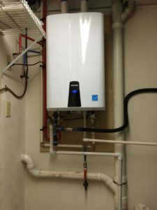 A nice Tankless Water Heater.