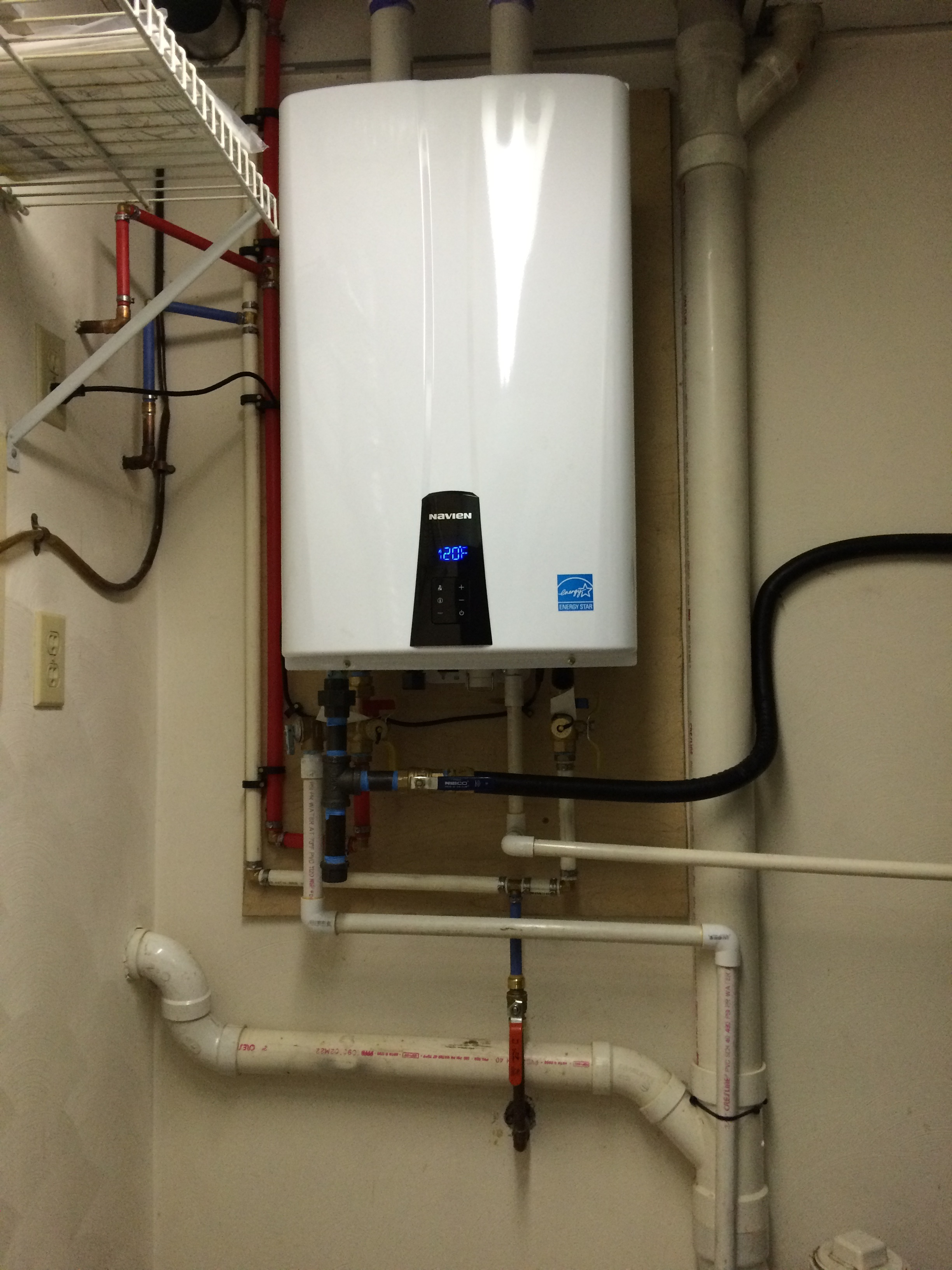 Tankless Water Heater Sheaffer Mechanical Llc